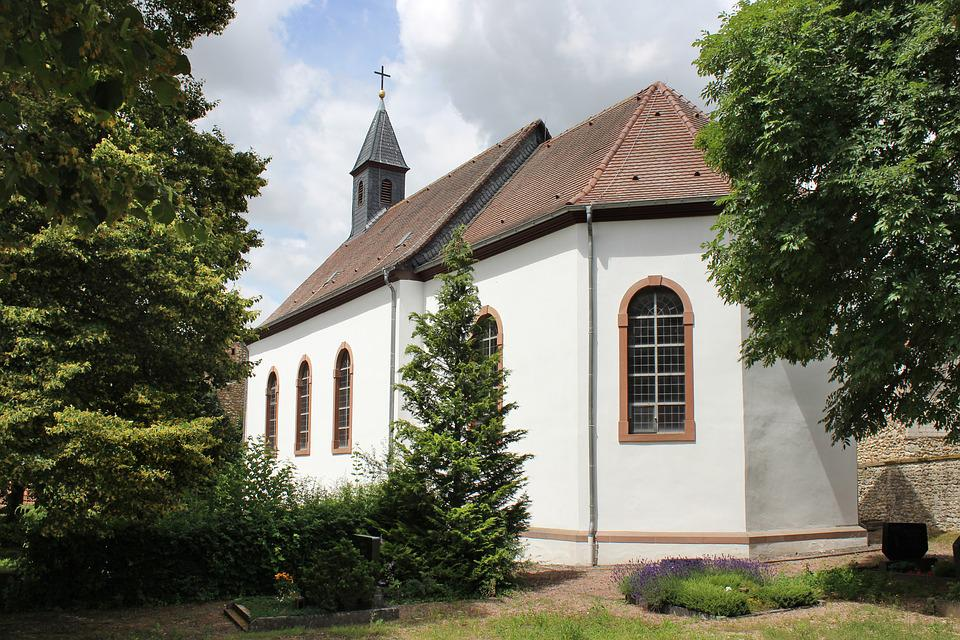 Einselthum, Church, Building, Germany, Old German Style