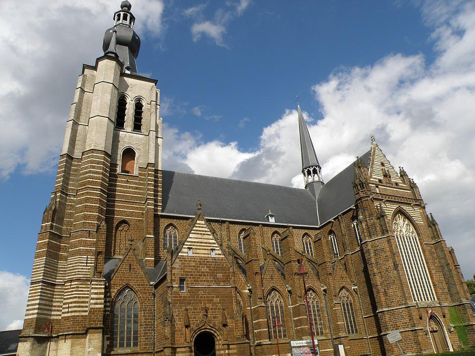 Aarschot, Onze Lieve Vrouwekerk, Church, Building
