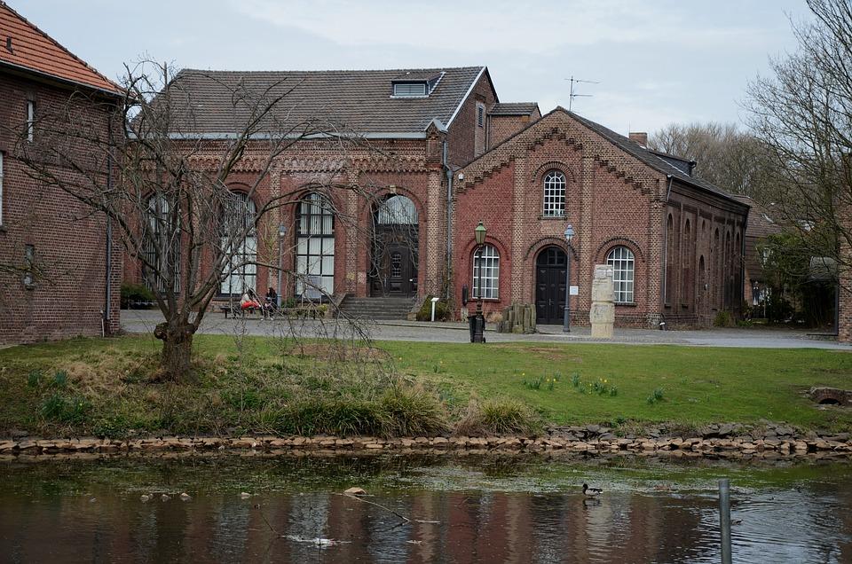Architecture, Building, Park, Space, Grevenbroich, Old