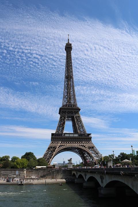 Paris, Peais, Eiffel Tower, Building