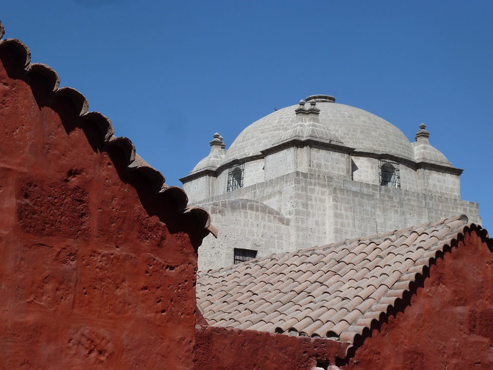 Peru, Arequipa, Building, Monastery