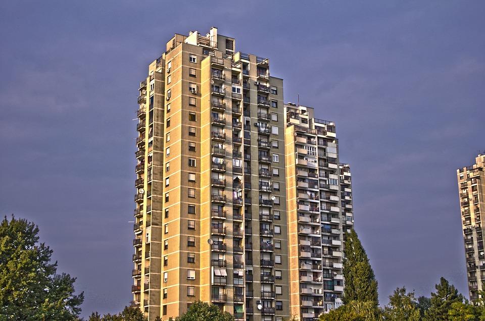 Building, Apartments, Condos, Real Estate, Residential