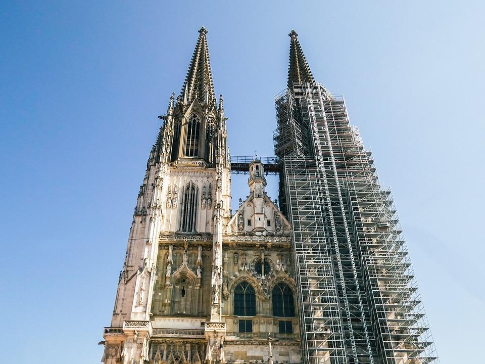 Regensburg Cathedral, Church, Building, Regensburg