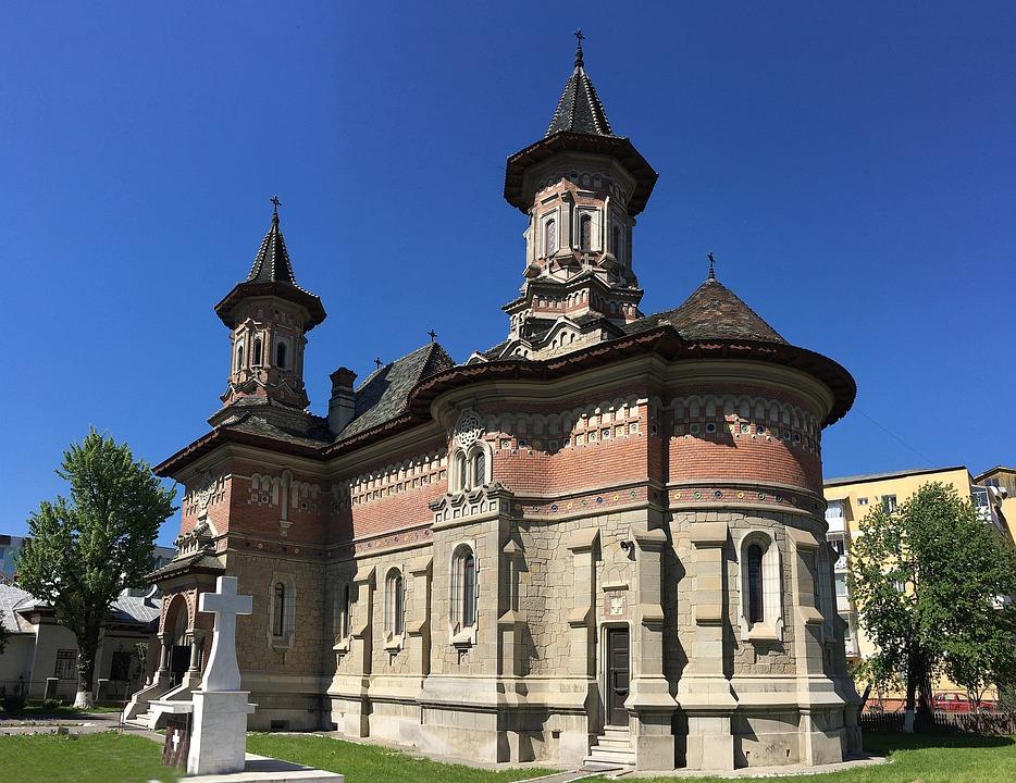 Church, Blue, Religion, Building