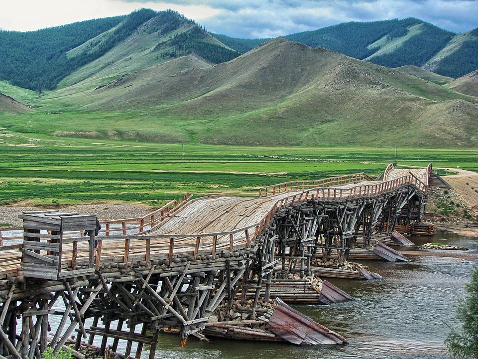 Bridge, Road Bridge, Building, The Design Of The