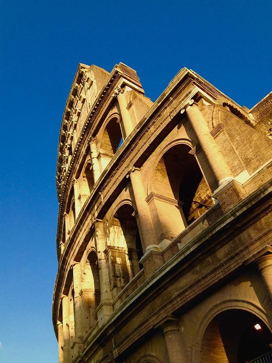 Colloseum, Rome, Collosseum, Building, City, Ruin