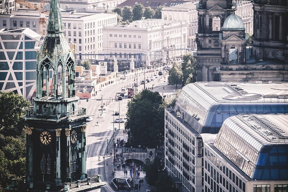Berlin, City, Sky, Heaven, Building, Architecture