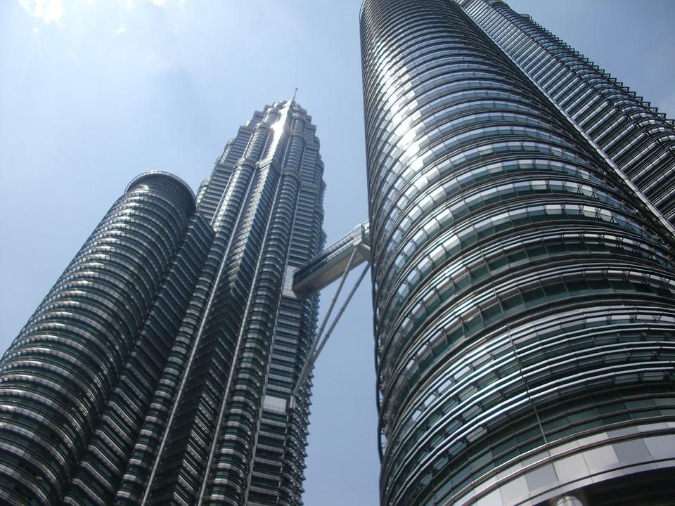 Kuala Lumpur, Petronas Twin Towers, Sky, Building