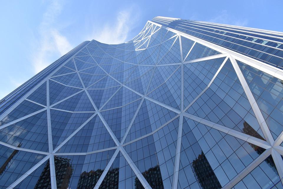 Skyscraper, Building, Architecture, Calgary, Alberta