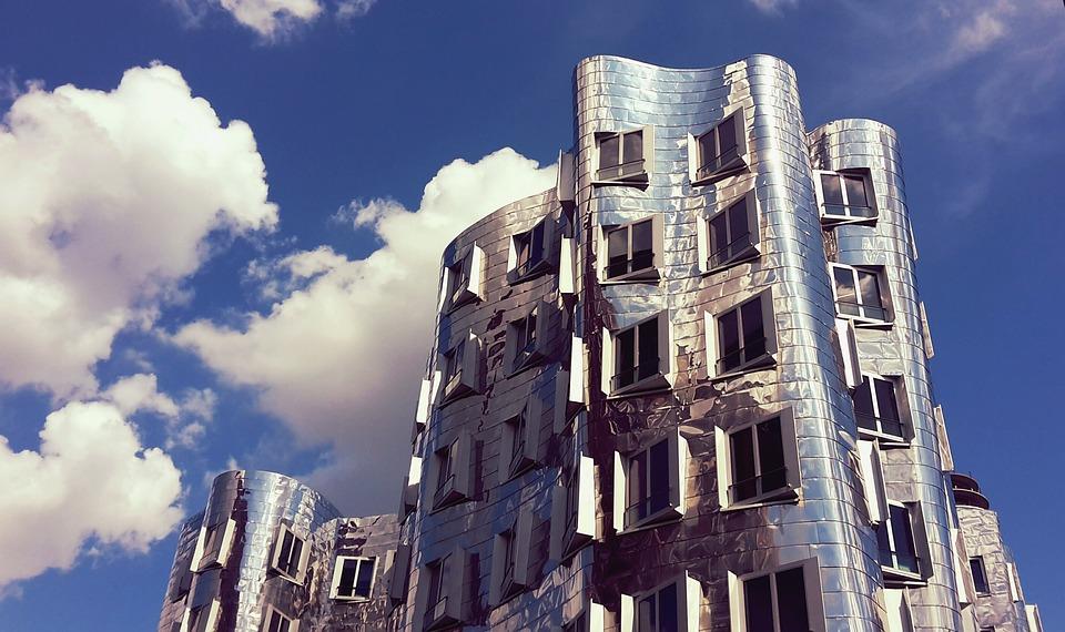 Architecture, Building, Skyscraper, Facade