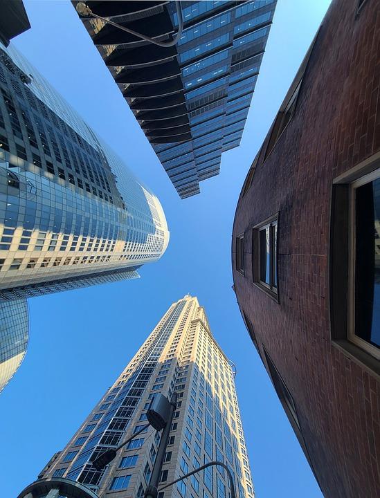 Skyscraper, Building, City, Architecture, Sydney