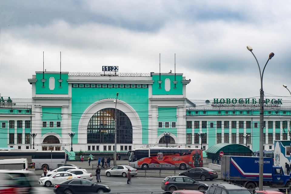 Station, Novosibirsk, Building, Station Square