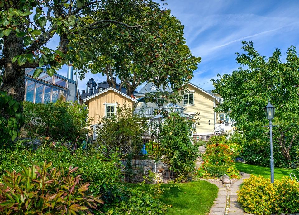 Vaxholm, Stockholm, Sweden, Building, House