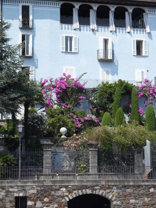 Ticino, Switzerland, Color, Building, Mediterranean