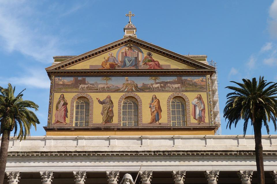 Architecture, Building, Travel, Old, Sky, The Basilica