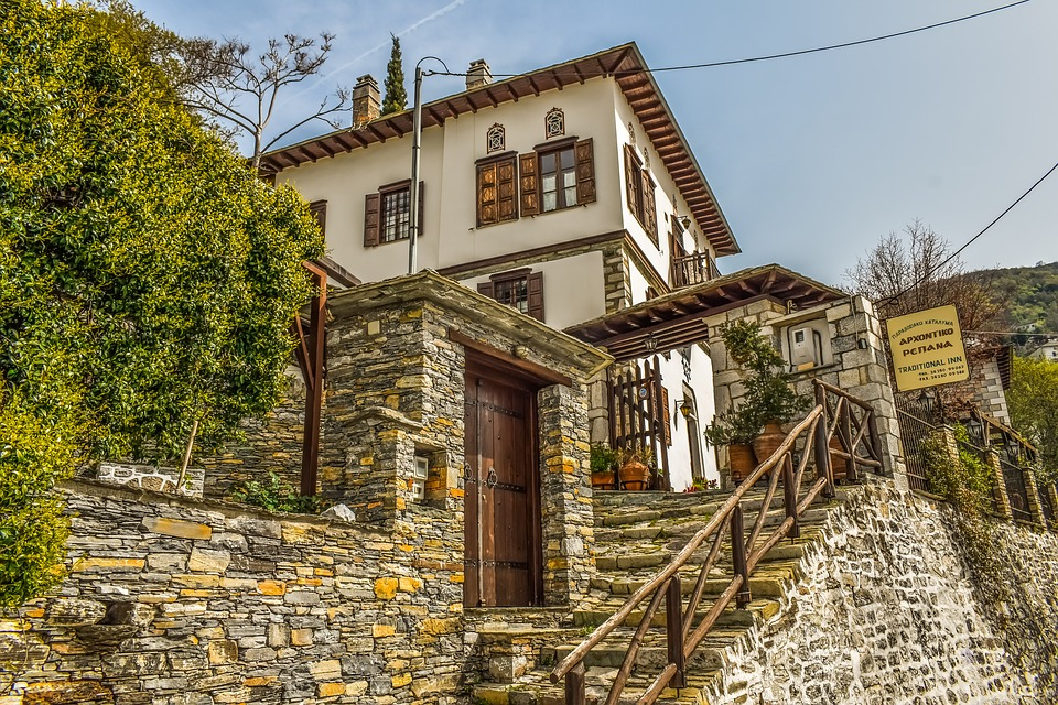Village, Architecture, Traditional, House, Building
