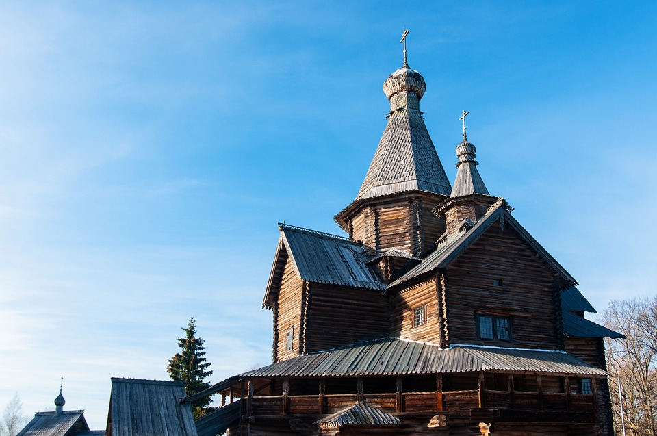 Architecture, Old, Building, Sky, Roof, Travel