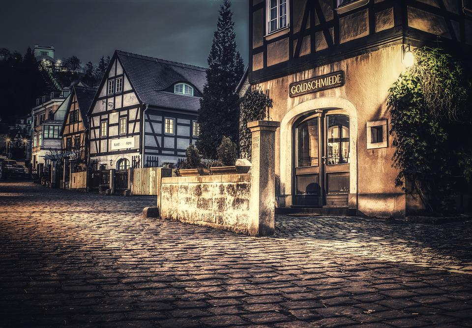 Architecture, Road, Old, House, City, Travel, Building