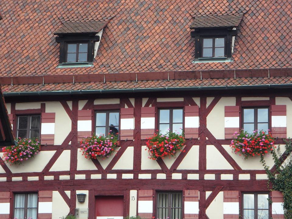 Truss, Fachwerkhaus, Building, Castle, Imperial Castle