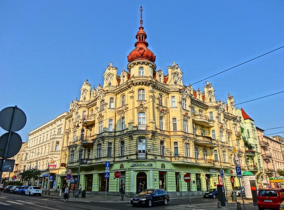 Freedom Square, Bydgoszcz, Turret, Tower, Building
