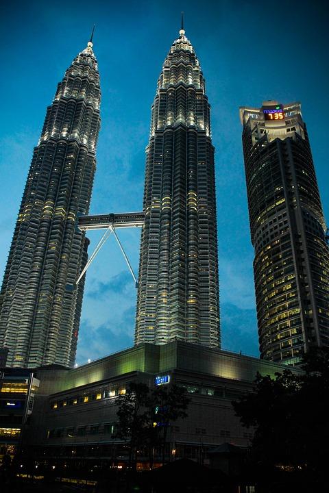 Free Photo Building Urban Kuala Lumpur Klcc City Malaysia