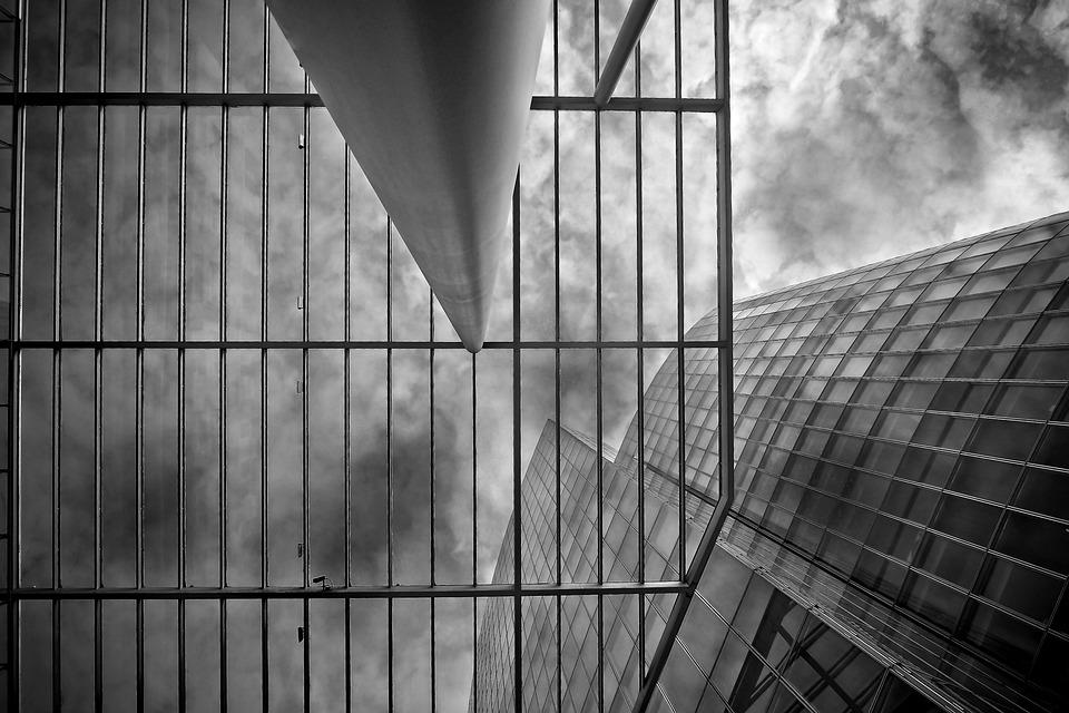 Architecture, Glass, Window, Building, Sky, City, Urban
