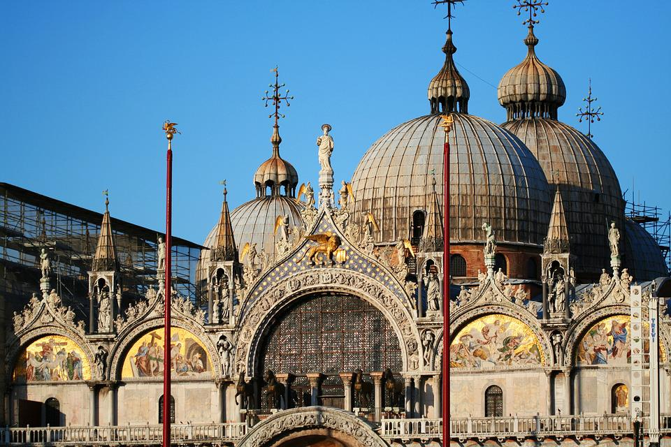 Venice Italy Architecture free photo building venice san marco architecture italy dome - max