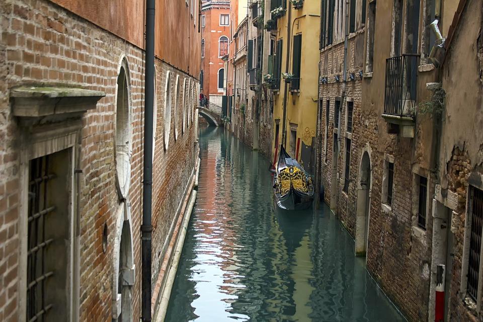 Venice, Italy, Italian, Canal, Building, Water, Travel