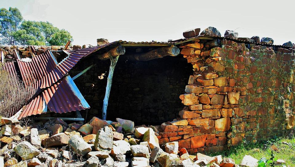 Ruins, Pretoria, Building, Stones, Falling, Walls
