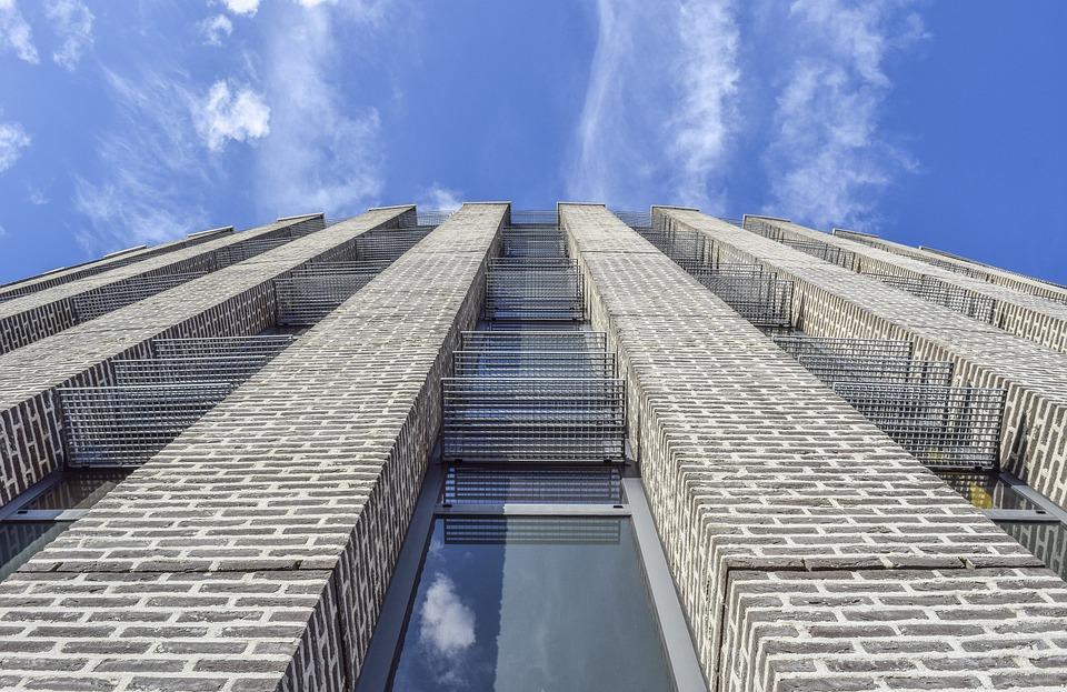 Architecture, Building, City, Window, Skyscraper