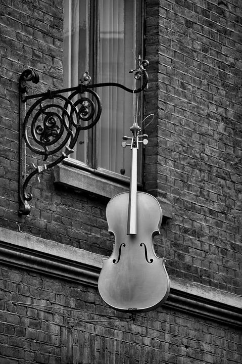 Window, Building, Wall, Windows, High, Music