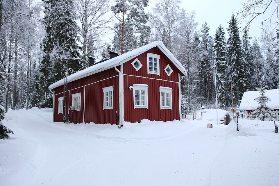 House, Building, Old, Architecture, Winter, Snow, Cold