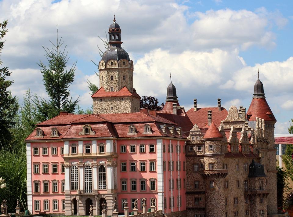 Castle, The Palace, Architecture, Buildings, Building