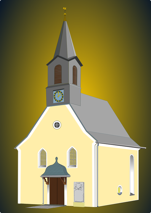 Church, Buildings, Christian, Clergy, Spire, Steeple