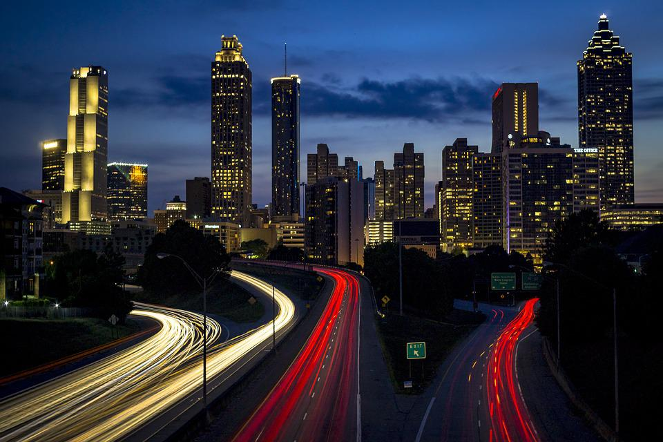Architecture, Buildings, City, Cityscape, Expressway