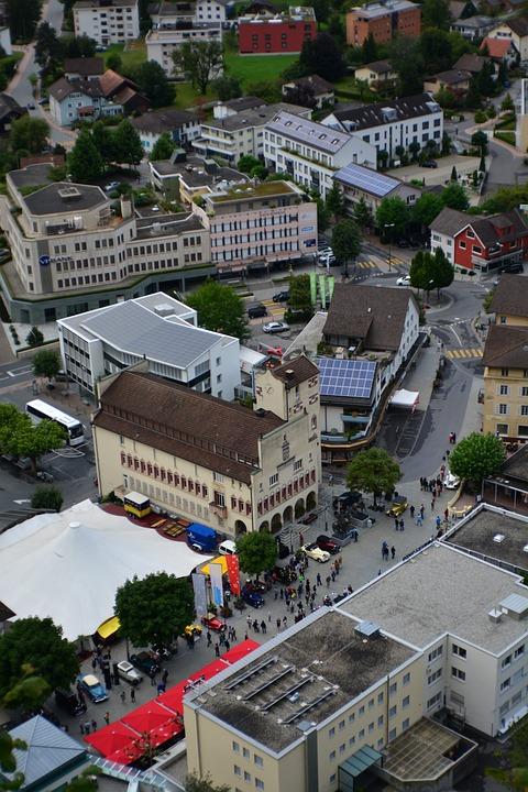Liechtenstein, City, Buildings