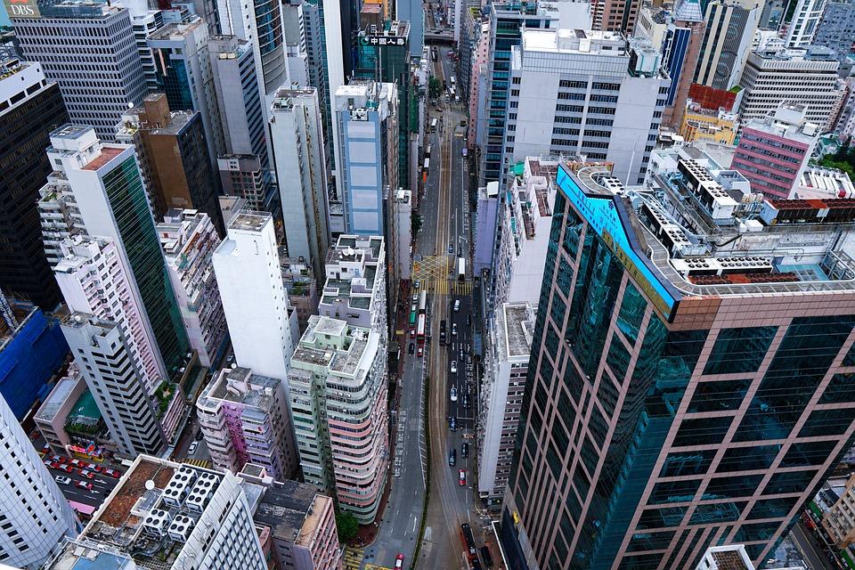 Skyline, Cityscape, Buildings, Urban, Hongkong