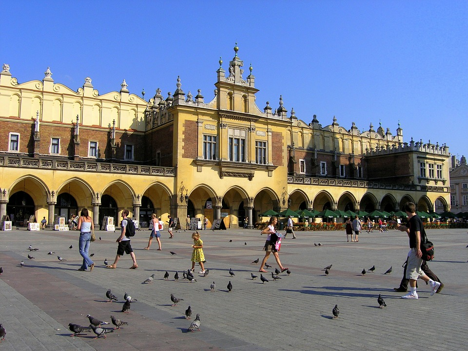 Cracow, Poland, Buildings, Architecture