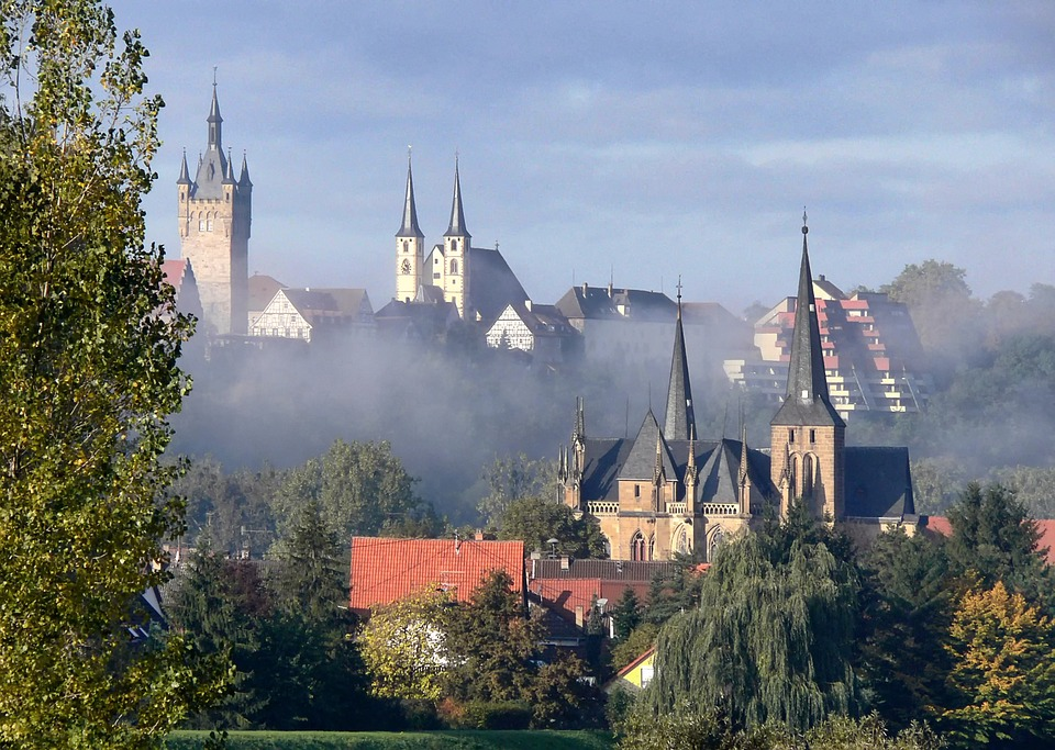 Baden-württemberg, Germany, Churches, Buildings, City