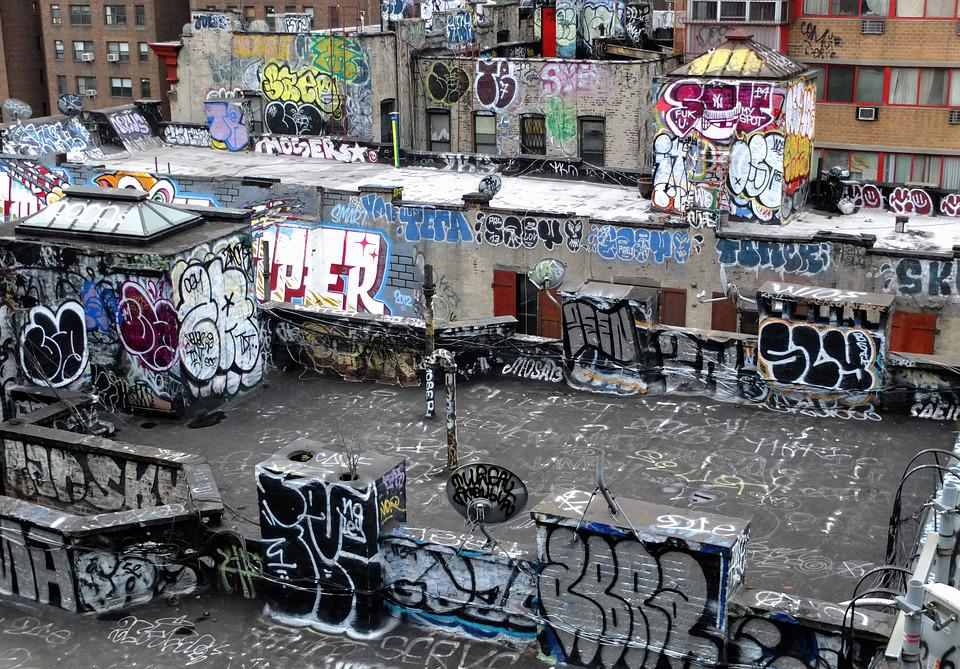 Art, Buildings, Graffiti, Street