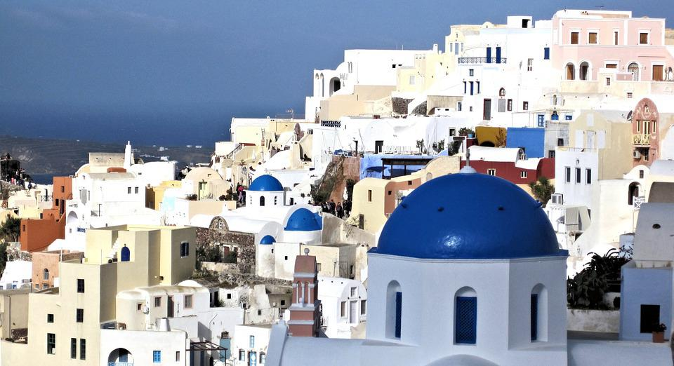 Santorini, Greece, Buildings, Architecture, Travel
