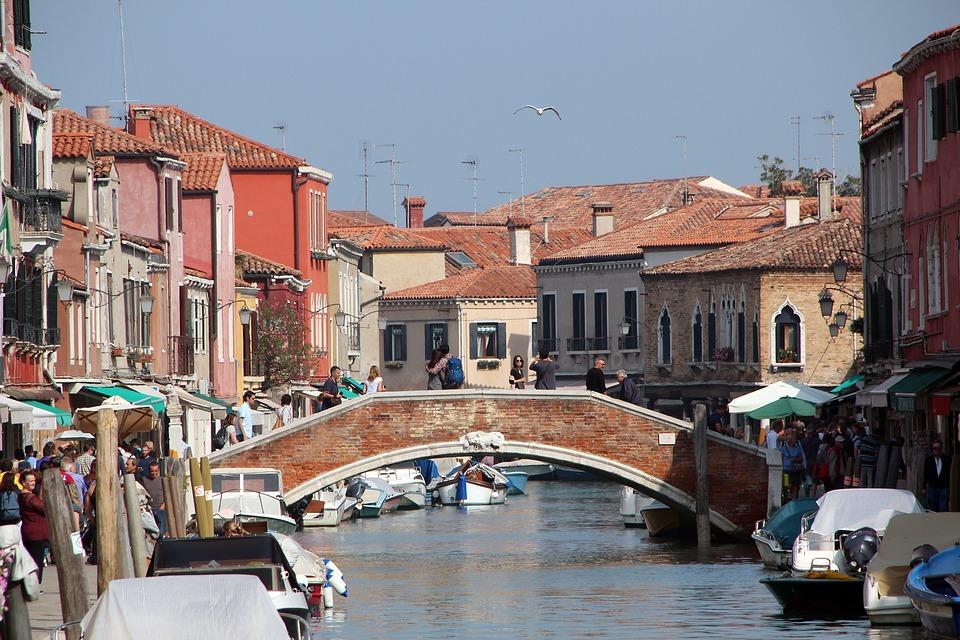 Venice, Canal, Italy, Buildings