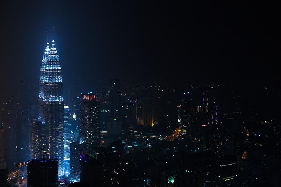 Buildings, Kuala Lumpur, Twin Towers, City, City Lights