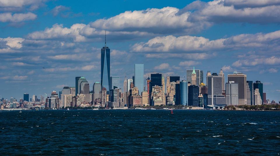 City, Building, Manhattan, Buildings, Architecture