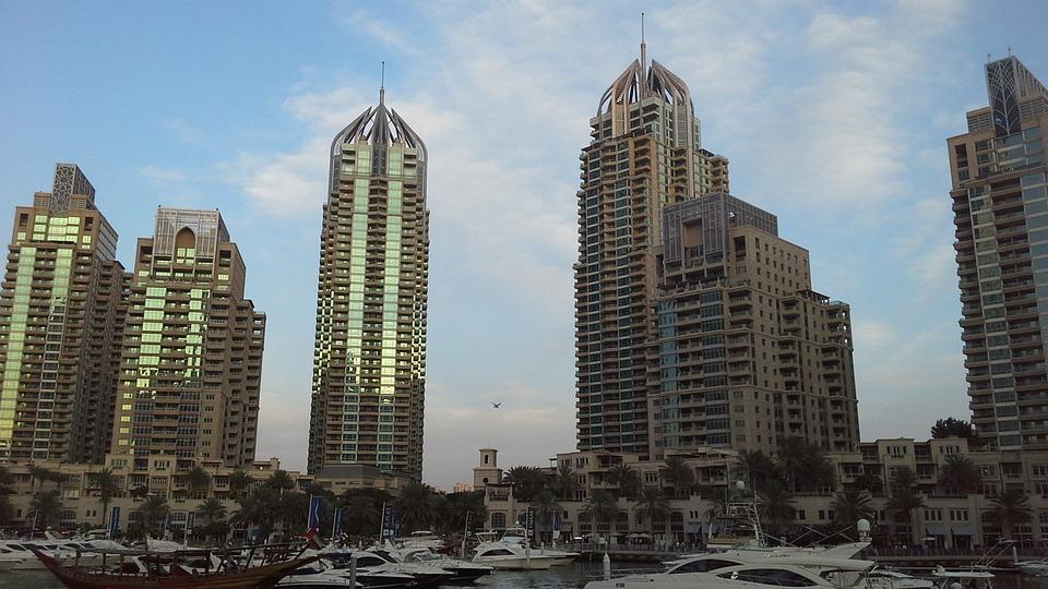 Buildings, Architecture, Marina, Dubai