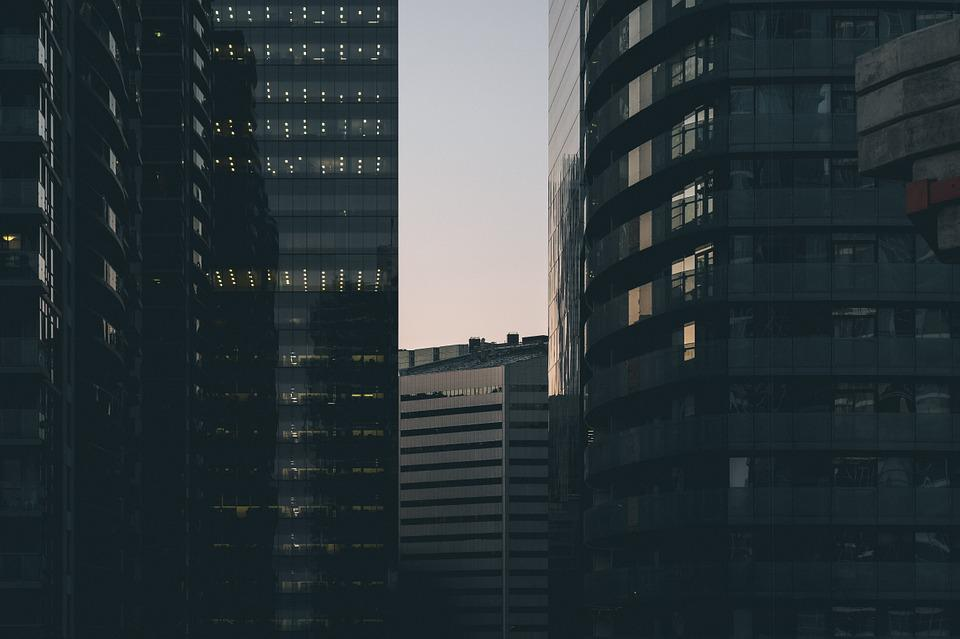 City, Cityscape, Buildings, Offices, Toronto, Canada