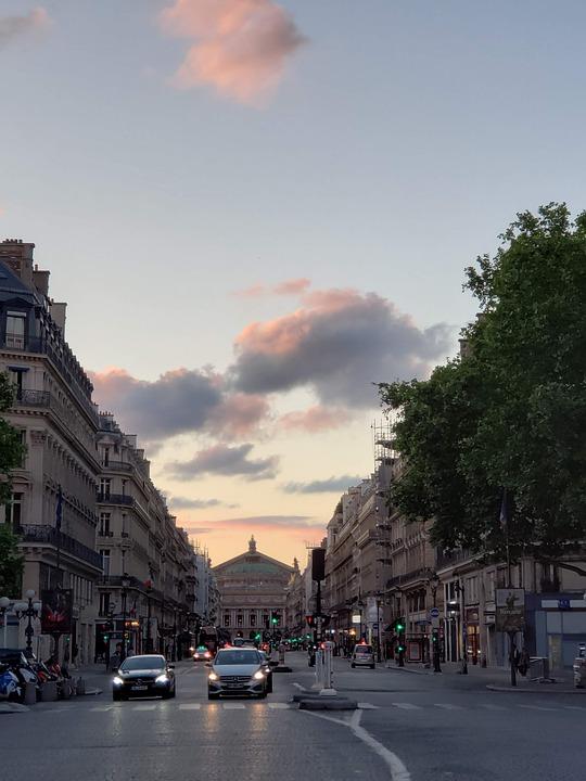 Street, Road, Cars, Vehicles, Traffic, Buildings, Trees