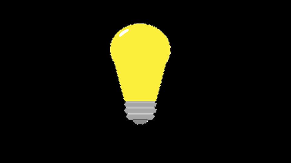 Bulb, Flat Design, Drawing, Idea, Lamp, Light, Lighting