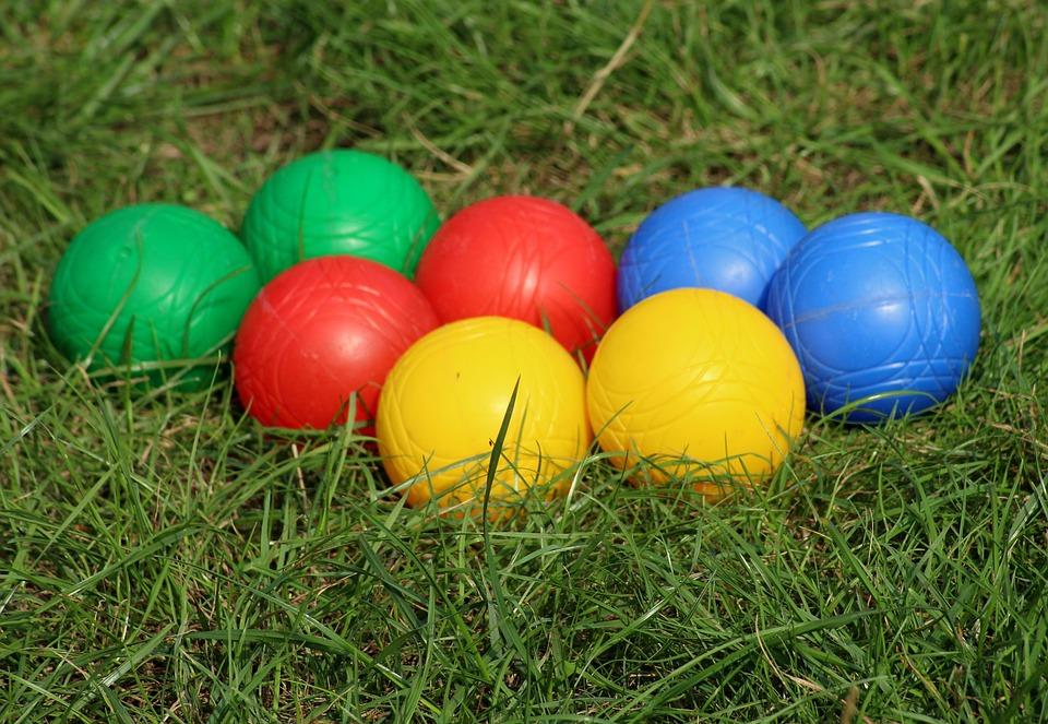 Balls, Bule, Bull, Petanque, Colorful, Game, Fun