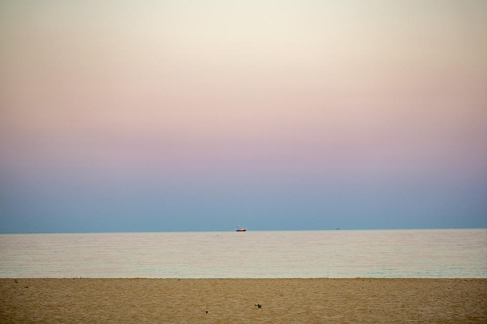 Ilchenko, Bulgaria, Black Sea, Sand, Sky